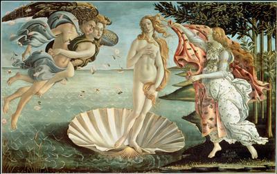 The Birth of Venus, c.1485 (tempera on canvas), 180x280 cm