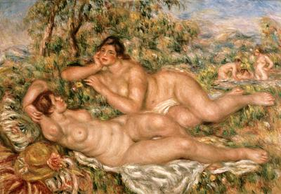 The Bathers, c.1918-19 (oil on canvas), 110x160 cm