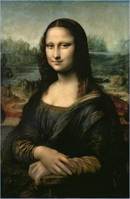 Mona Lisa, c.1503-6 (oil on panel), 77x53 cm