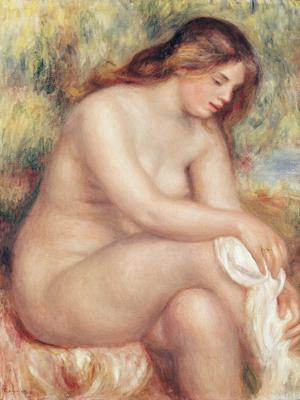 Bather Drying Herself, c.1910 (oil on canvas), 84x65 cm