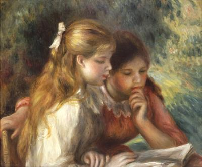 The Reading, c.1890-95 (oil on canvas), 55x65.5 cm