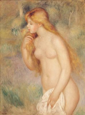 Standing Bather, 1896 (oil on canvas), 81x60 cm