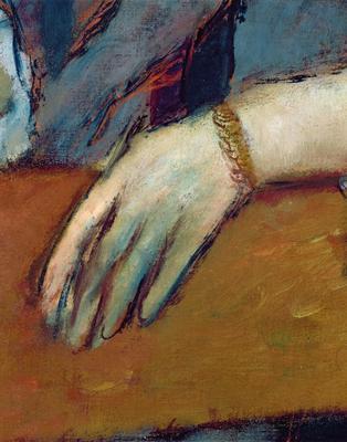 Portrait of Helene Rouart (1886) (detail),