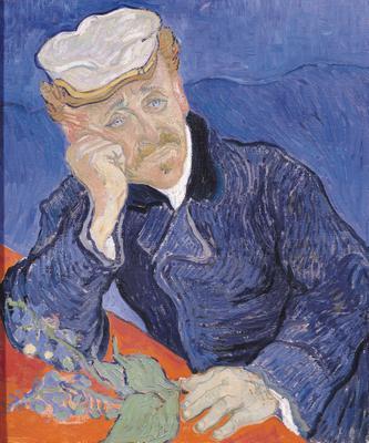 Dr. Paul Gachet, 1890 (oil on canvas), 68x57 cm