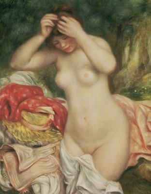 Bather Arranging her Hair, 1893 (oil on canvas), 92.2x73.9 cm