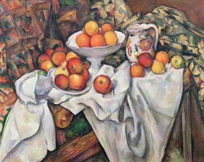 Apples and Oranges, 1895-1900 (oil on canvas), 74x93 cm