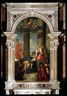 the importance of titians pesaro and assunta altarpiece from a stylistic and iconographic point of v That painting was made by a venetian artist, probably titian, sometime around 1510 (fig 5)54 by 1519 the painting had made its way into the church of the scuola di san rocco, an important lay confraternity, and in that year the painting began to perform nu- ____ merous miraculous healings55 the picture's cult was 6 titian, assunta, 1516–1518.