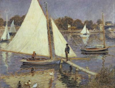 The Seine at Argenteuil, 1874 (oil on canvas), 51x65 cm