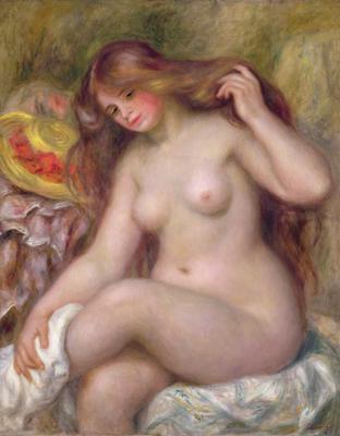 Bather, c.1903, 92x73 cm