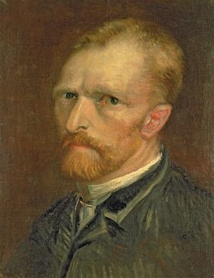 Self portrait, 1886 (oil on canvas), 39.5x29.5 cm