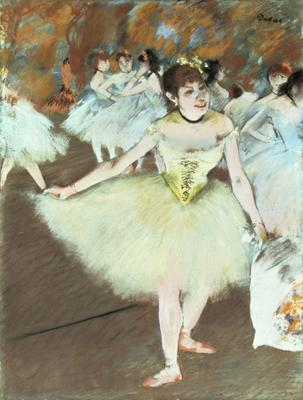 On Stage, 1879-81 (pastel on paper), 58.5x44.8 cm