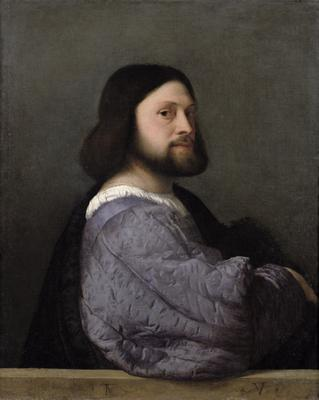 Portrait of a Man, c.1512 (oil on canvas), 81.2x66.3 cm