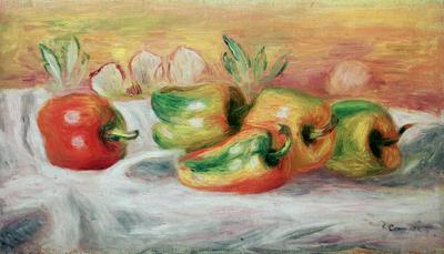 Pimientos, 1912 (oil on canvas), 27x46 cm