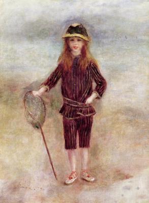 The Little Fisherwoman (Marthe Berard) 1879 (oil on canvas), 60x45 cm