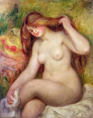 Nude (oil on canvas), 92x73.5 cm