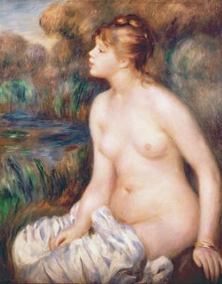 Seated Female Nude, 1891 (oil on canvas), 82x65 cm