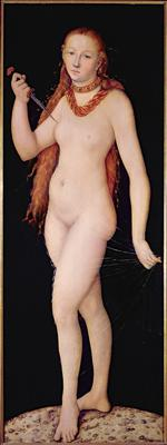 The Death of Lucretia, c.1524 (oil on panel), 194x75 cm