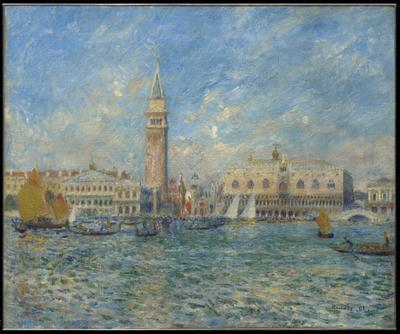 Venice, the Doge's Palace, 1881 (oil on canvas), 21.4x25.7 cm