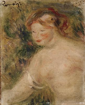 A Female Torso, 1910 (oil on canvas), 21x35 cm