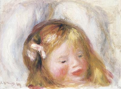 Head of Coco, 1903 (oil on canvas),