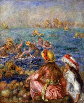 The Bathers, 1892 (oil on canavs),