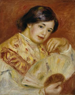 Coco with a Japanese Fan, c.1906 (oil on canvas),