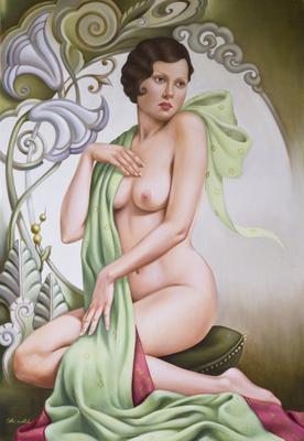 Petite Libullule (oil on canvas),