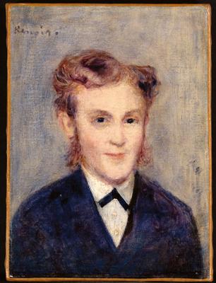 The Concierge of Mr. Paul Berard, 1879 (oil on canvas), 22.2x16.6 cm