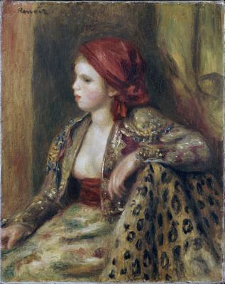 Odalisque, c.1895 (oil on canvas), 41.2x32.7 cm
