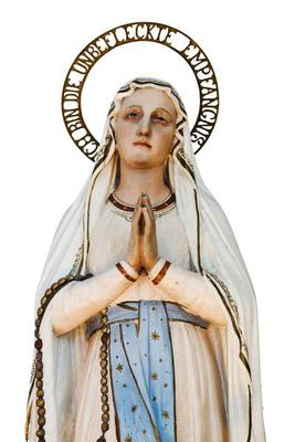 Holy Virgin Mary statue