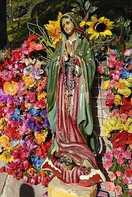 Madonna, Basilica de Nuestra Senora de Guadaloupe, Mexico City, Mexico