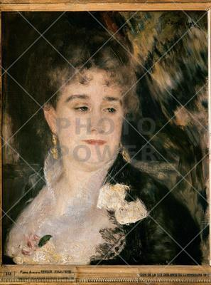 Portrait of Mme Georges Charpentiers ; Painting,