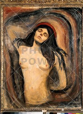 Madonna ; Painting,