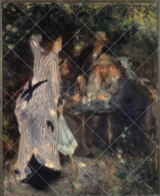 The Pergola ; Painting,