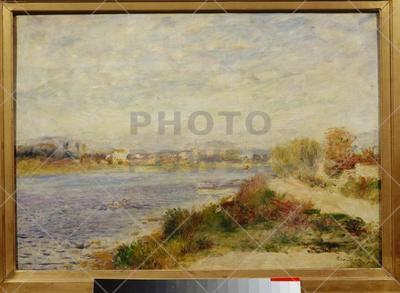 The Seine at Argenteuil ; Painting,