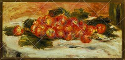 Strawberries, 1908. ; Painting, Oil on canvas, 23 x 29 cm.