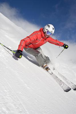 Skifahren Skiing